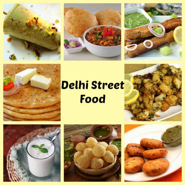 Street Food in Delhi