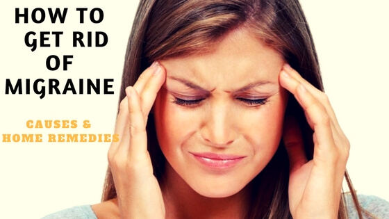How to get rid of a migraine