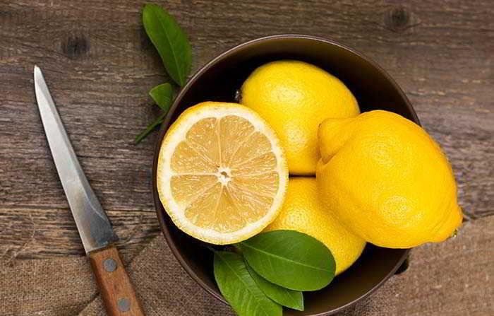 lemon for dandruff