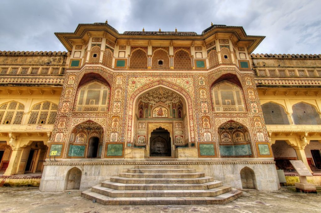 The city palace in Rajasthan