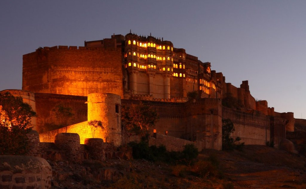 the largest fort in India