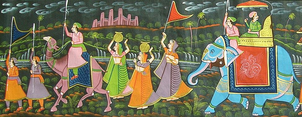 Rajasthani artwork