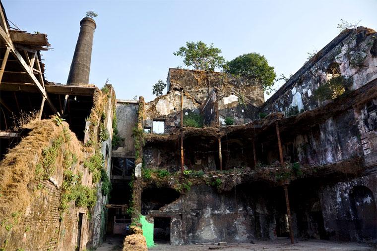 Mukesh Mills haunted