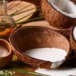 coconut milk massage
