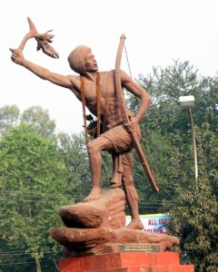 the freedom fighter statue jharkhand