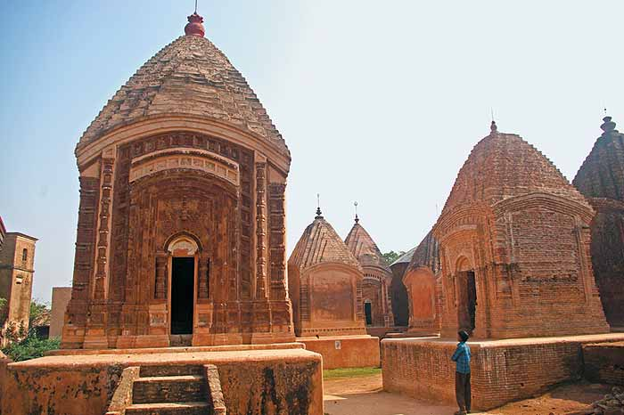 Terracotta temples