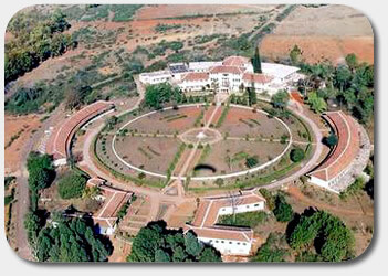 Areal View of Netarhat School