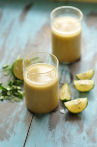 Cool summer sattu drink