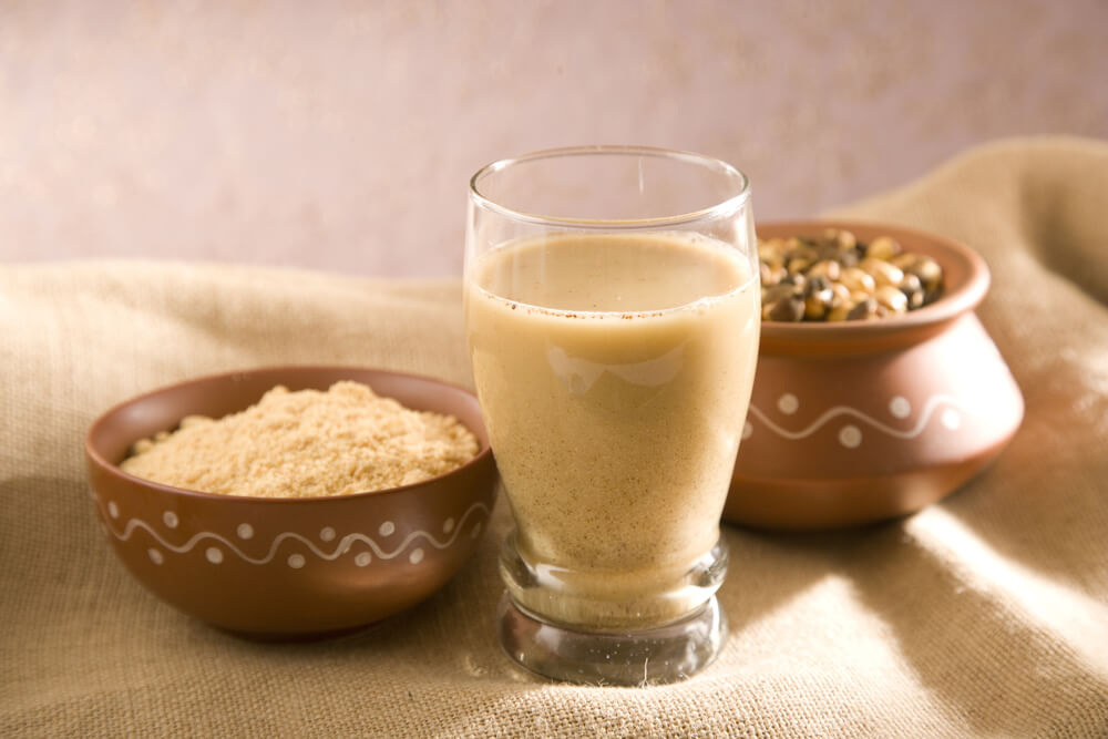 Roasted Gram Flour Drink