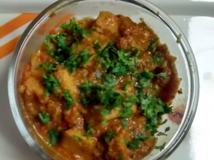 Kanda ki sabji food from jharkhand