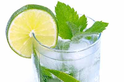 refreshing lemon drink