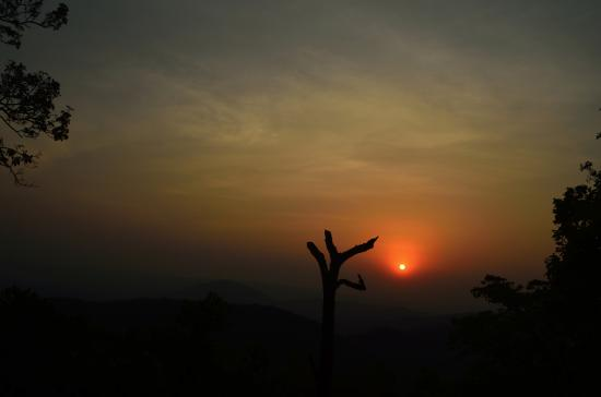 Sunset in Netarhat