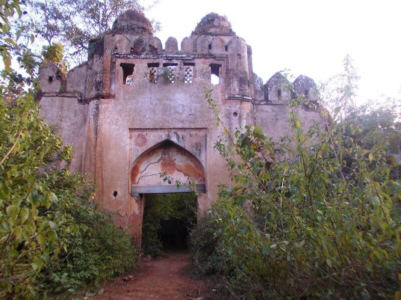The old palamu fort