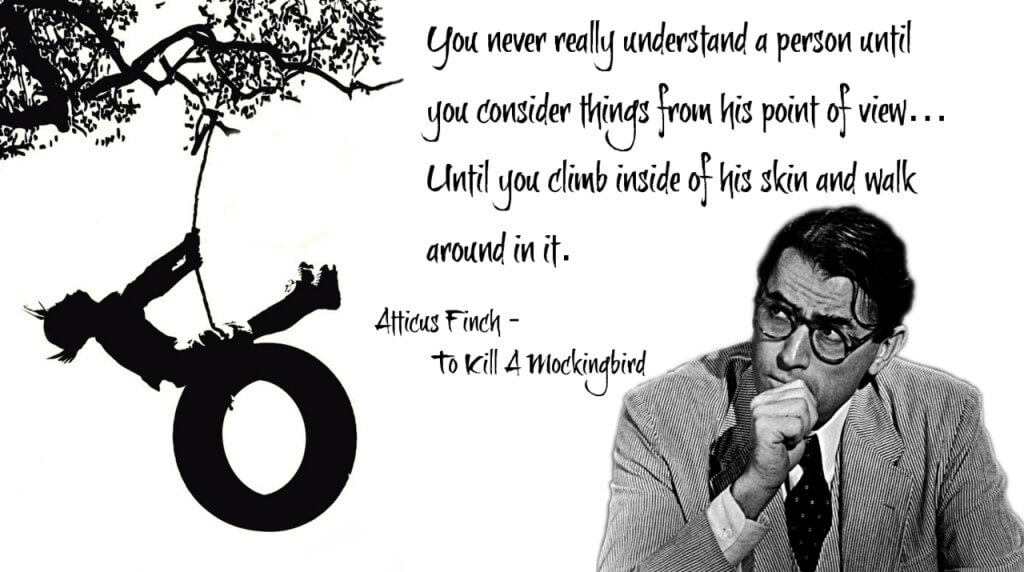 to kill a mockingbird and finch Overview harper lee's to kill a mockingbird is the rare american novel that can be discovered with excitement in why does atticus finch risk his.