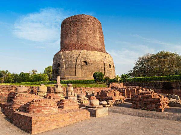 Sarnath Archeological site banaras/varanasi