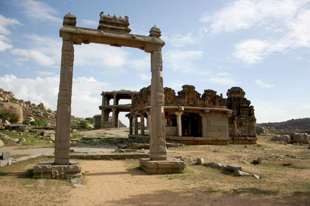 King;s Balance in Hampi