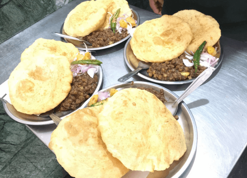Baba Nagpal Corner Best Chole Bhature in Delhi