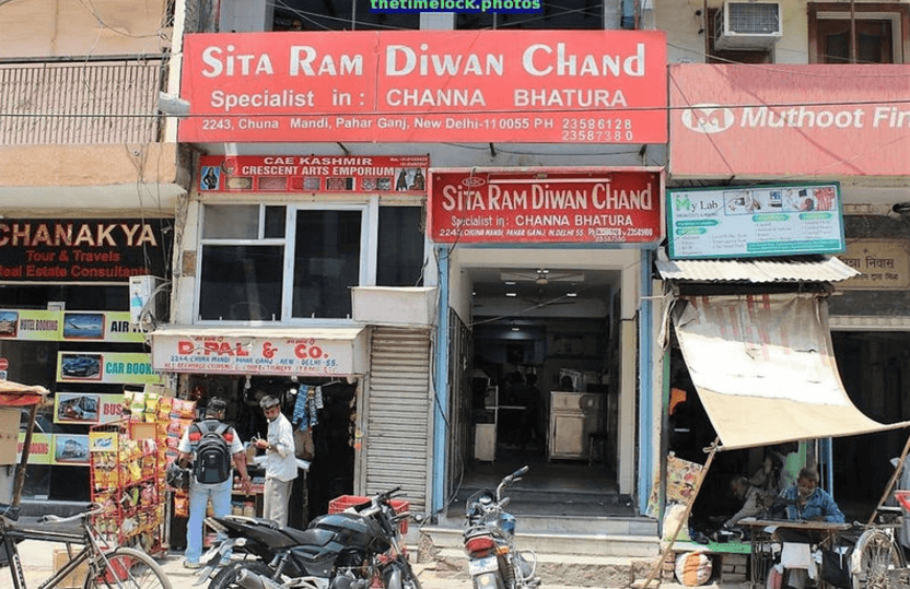 Sita Ram Diwan Chand choley bhature in delhi