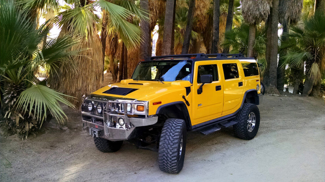 Hummer adventure at palm spring