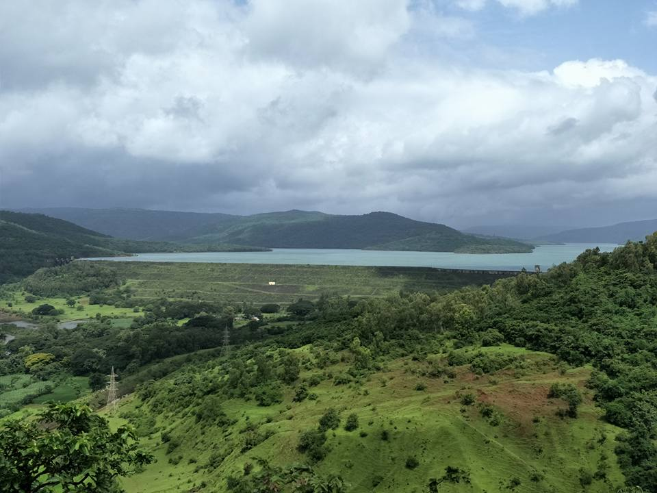View From Chandoli Resort in National Park