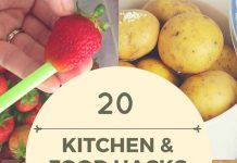 kitchen hacks food hacks