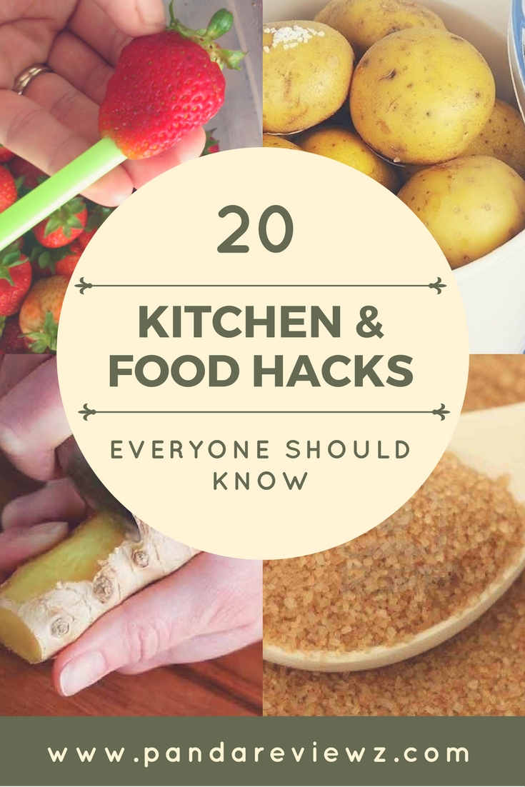 20 Easy Kitchen Hacks and Food Hacks Everyone Should Know About ...