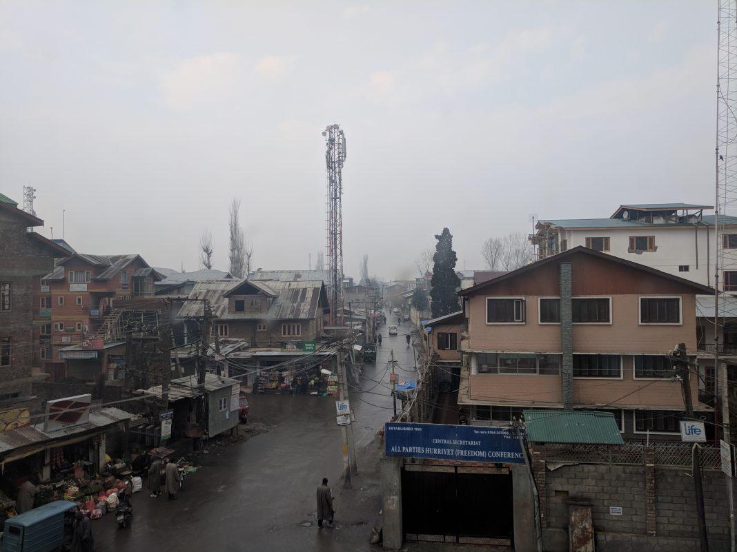 STREET IN SRINAGAR