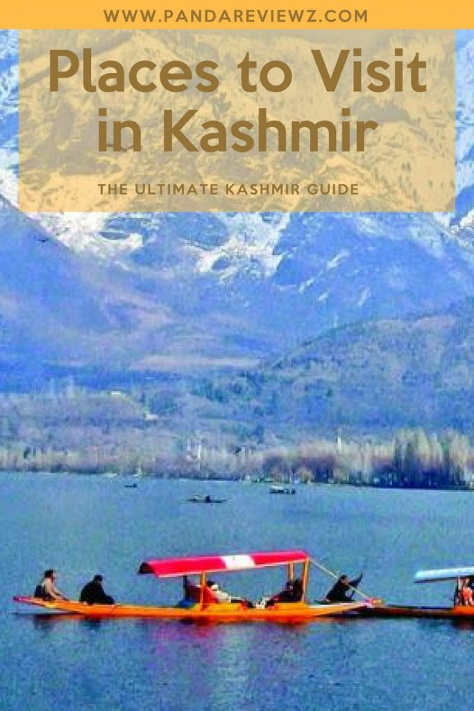places to visit in kashmir