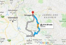 How to Reach Srinagar from Jammu