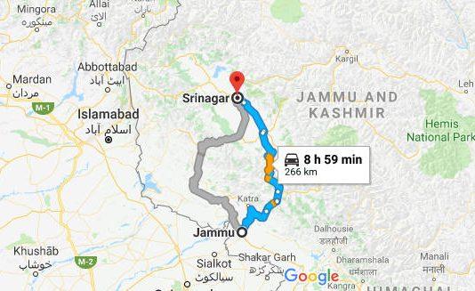 How to Reach Srinagar from Jammu