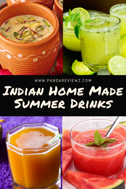 indian home madesummer drinks