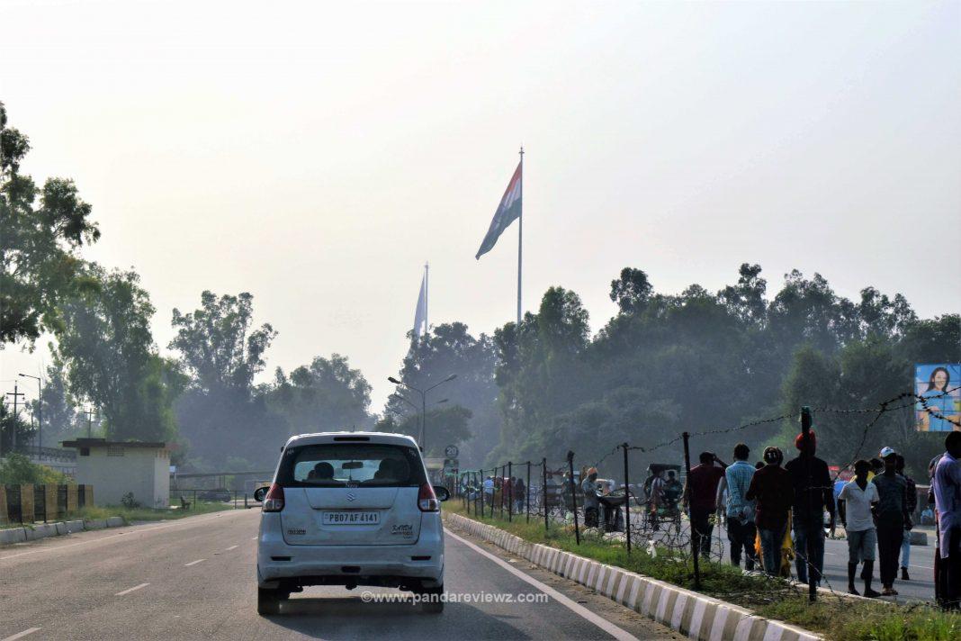 Wagah Border Road View