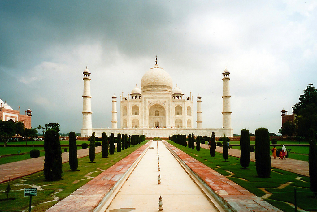 Agra in december