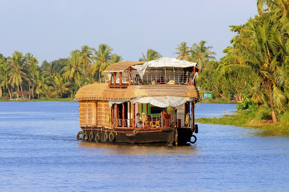 Alleppey In december in India