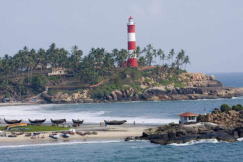 Kovalam in december