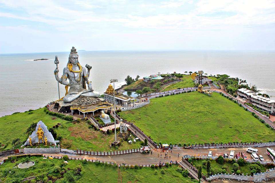 Murudeshwar in December In India