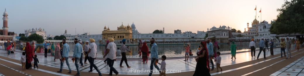 Golden temple parikrama