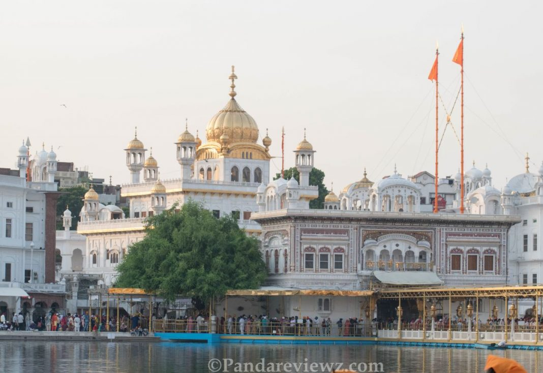 Golden temple dome