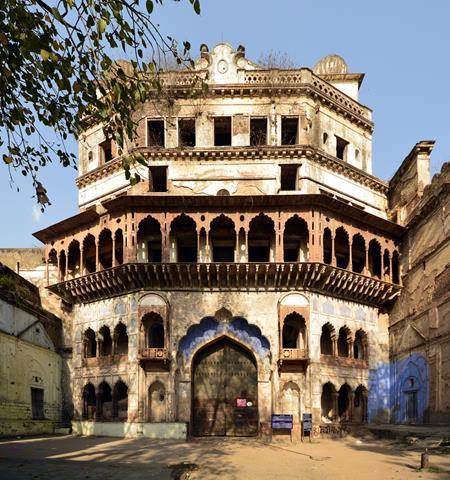 Taj mahal fort bhopal
