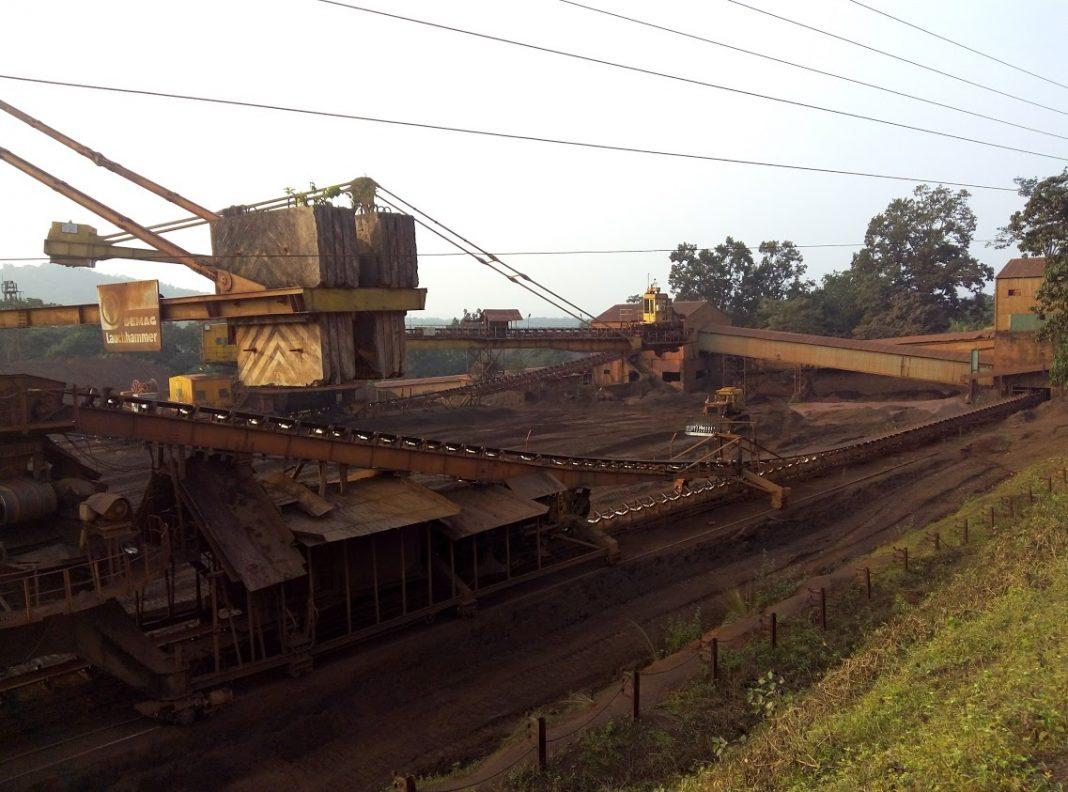 kiriburu iron ore mines