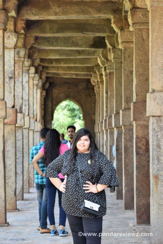 photo spot in qutub minar
