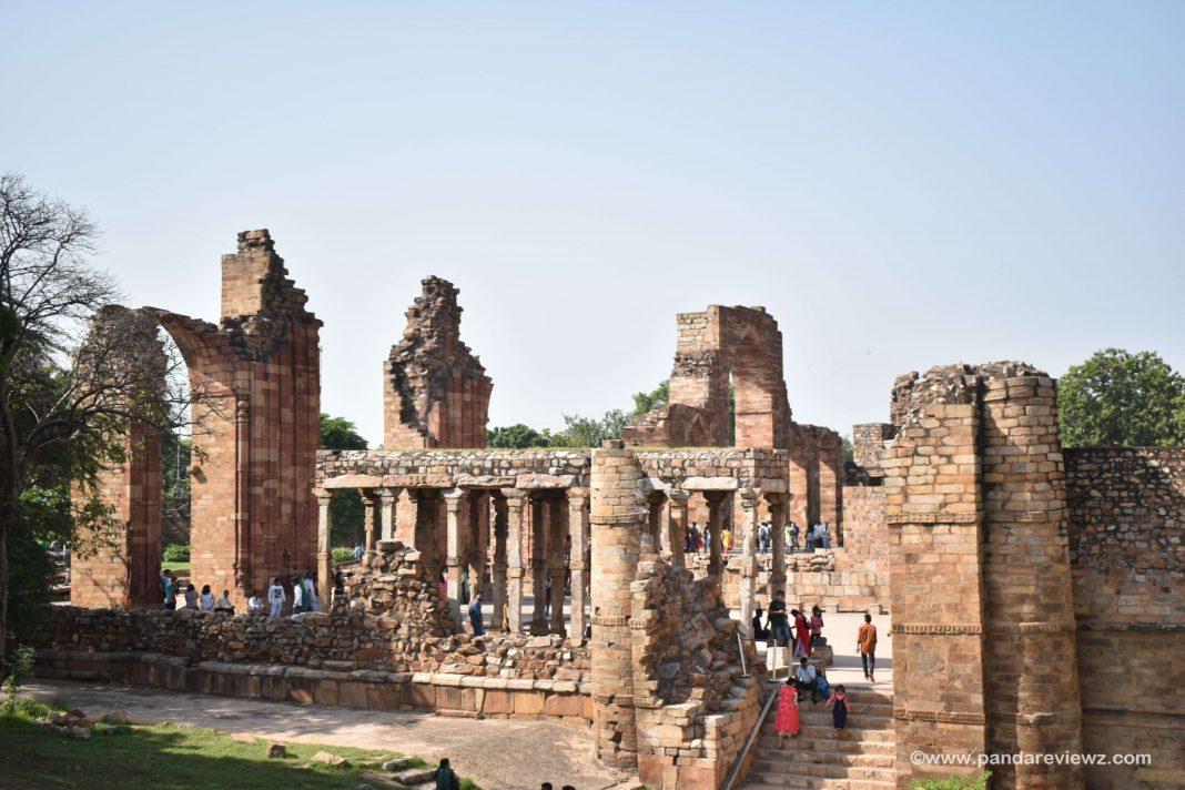 qutub minar ruins