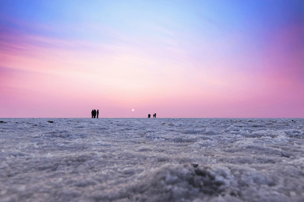 rann of kutch sand beach