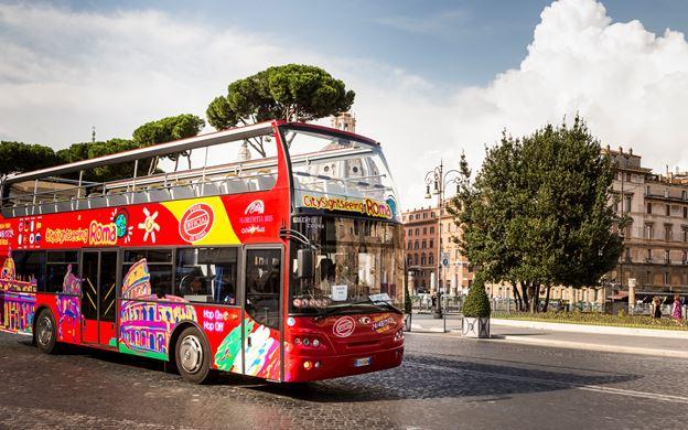 Double Decker Bus in houston