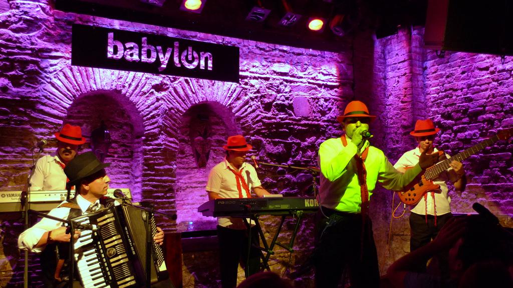 Babylon nightlife in istanbul