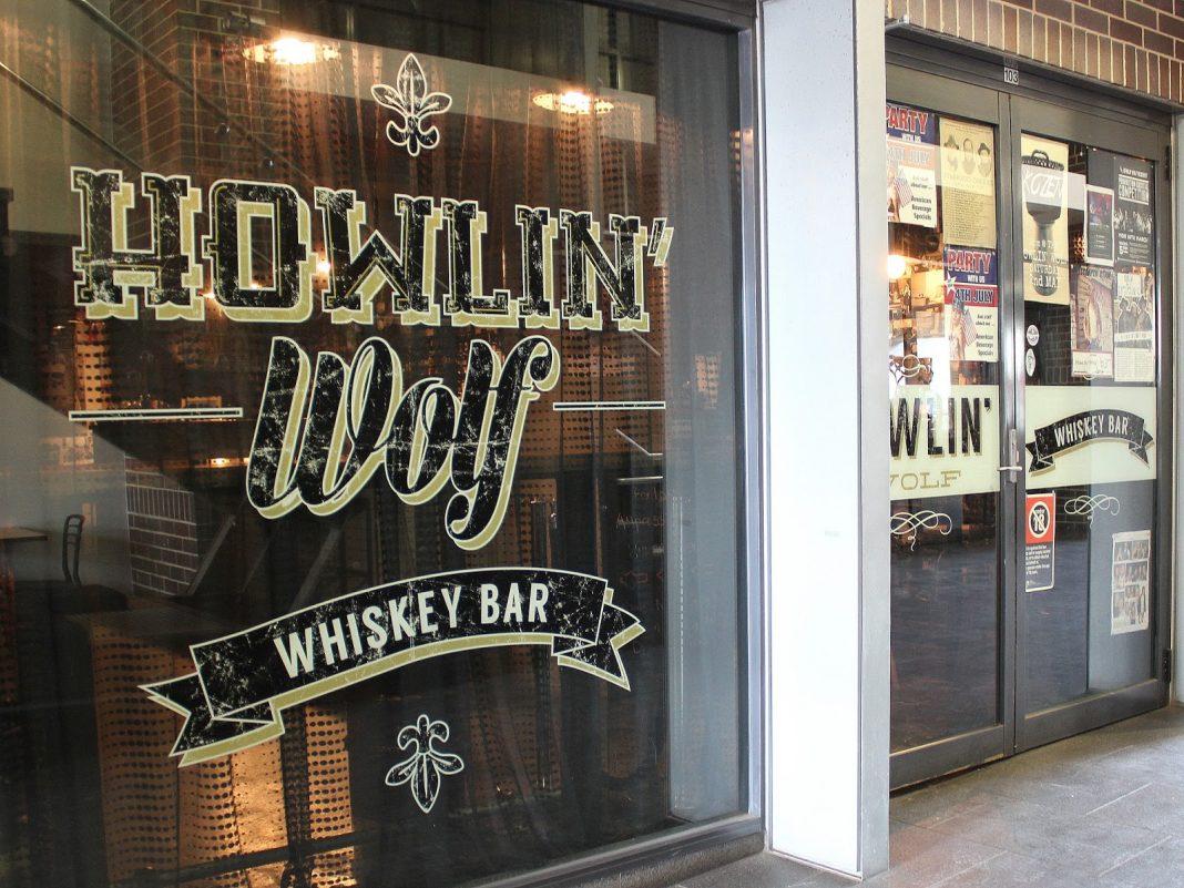 howlin Wolf wollongong Whiskey