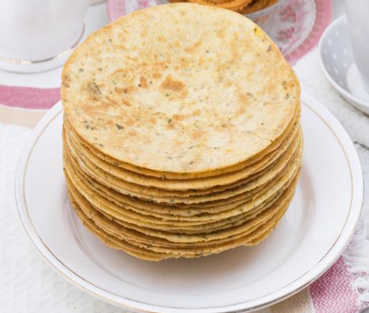 Khakra gujarati food