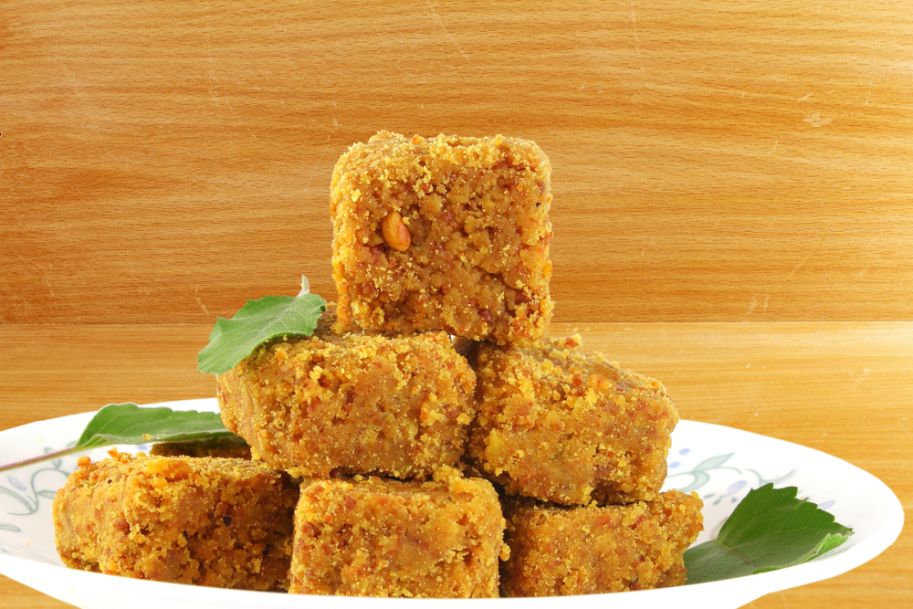 Mohanthal famous gujarati sweet