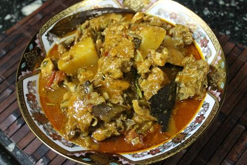 Murghanu Shaak Gujarati chicken curry