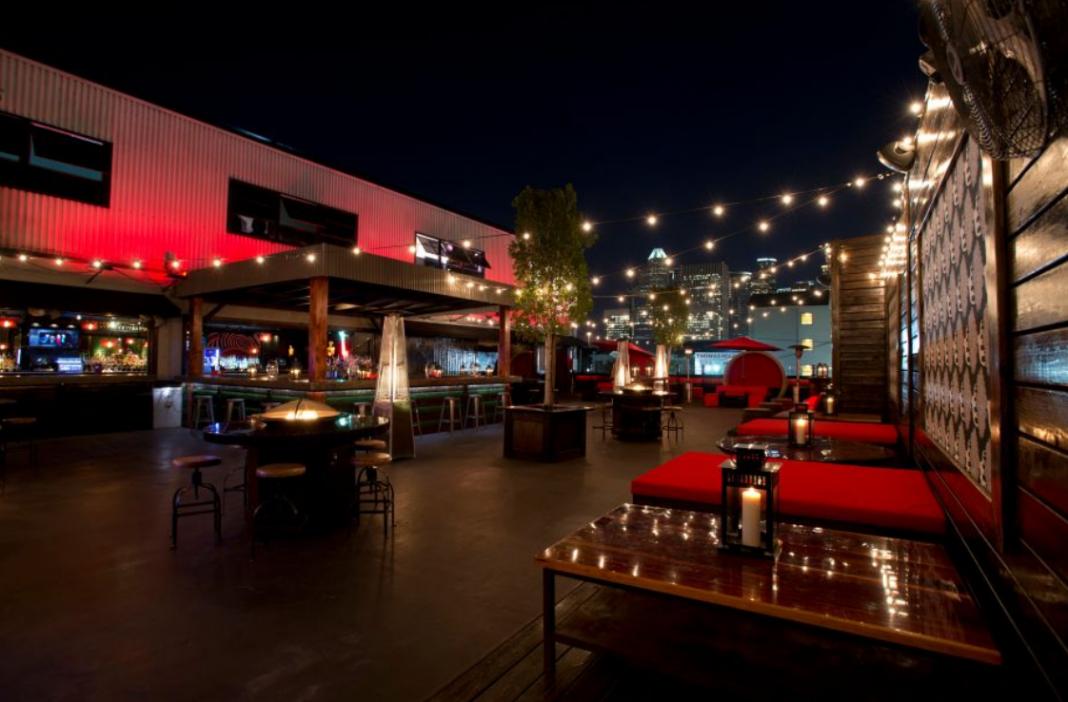Proof RoofTop restaurant Houston